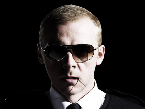 Hot Fuzz wallpaper with sunglasses entitled Nicholas Angel