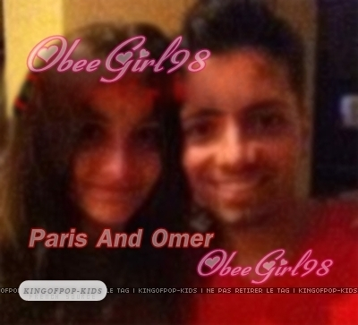 ObeeGirl98! Paris And Omer.. Smile!!