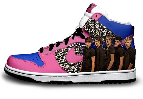 one direction fondo de pantalla with a running shoe entitled One Direction shoes