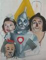 Oz,painting in progress