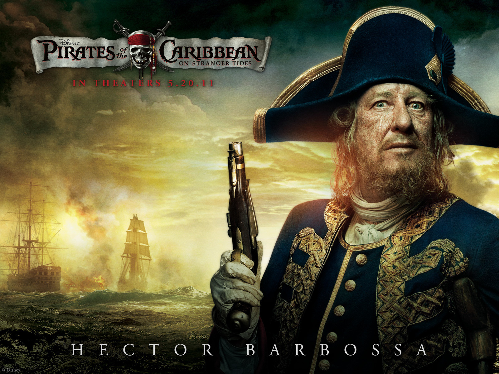 Pirates Of The Caribbean On Stranger Tides 2011 Movies Wallpaper 22141892 Fanpop