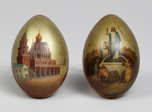 Precious Russian Easter Eggs