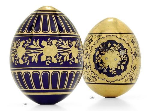 Precious Russian porselana Easter Eggs