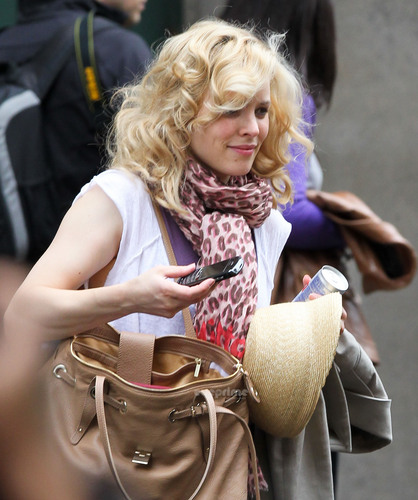 Rachel McAdams seen leaving her Hotel in New York, May 18
