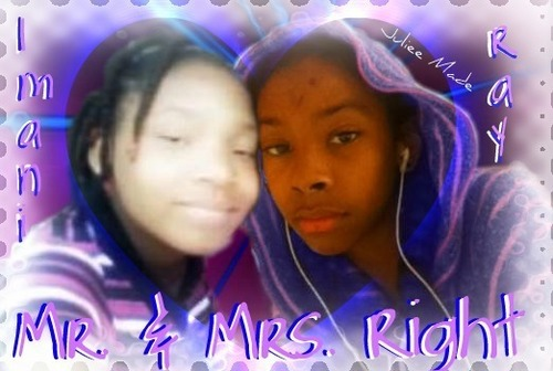 Ray Ray (Mindless Behavior) wallpaper probably containing a portrait titled Ray Ray & Imani