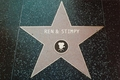 Ren & Stimpy's Hollywood Walk of Fame Star - ren-and-stimpy fan art