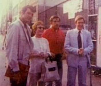 Robert Rodan, Grayson Hall, Jonathan Frid, and Roger Davis