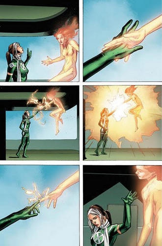 Rogue and Rachel Summers