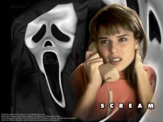 Scream پیپر وال