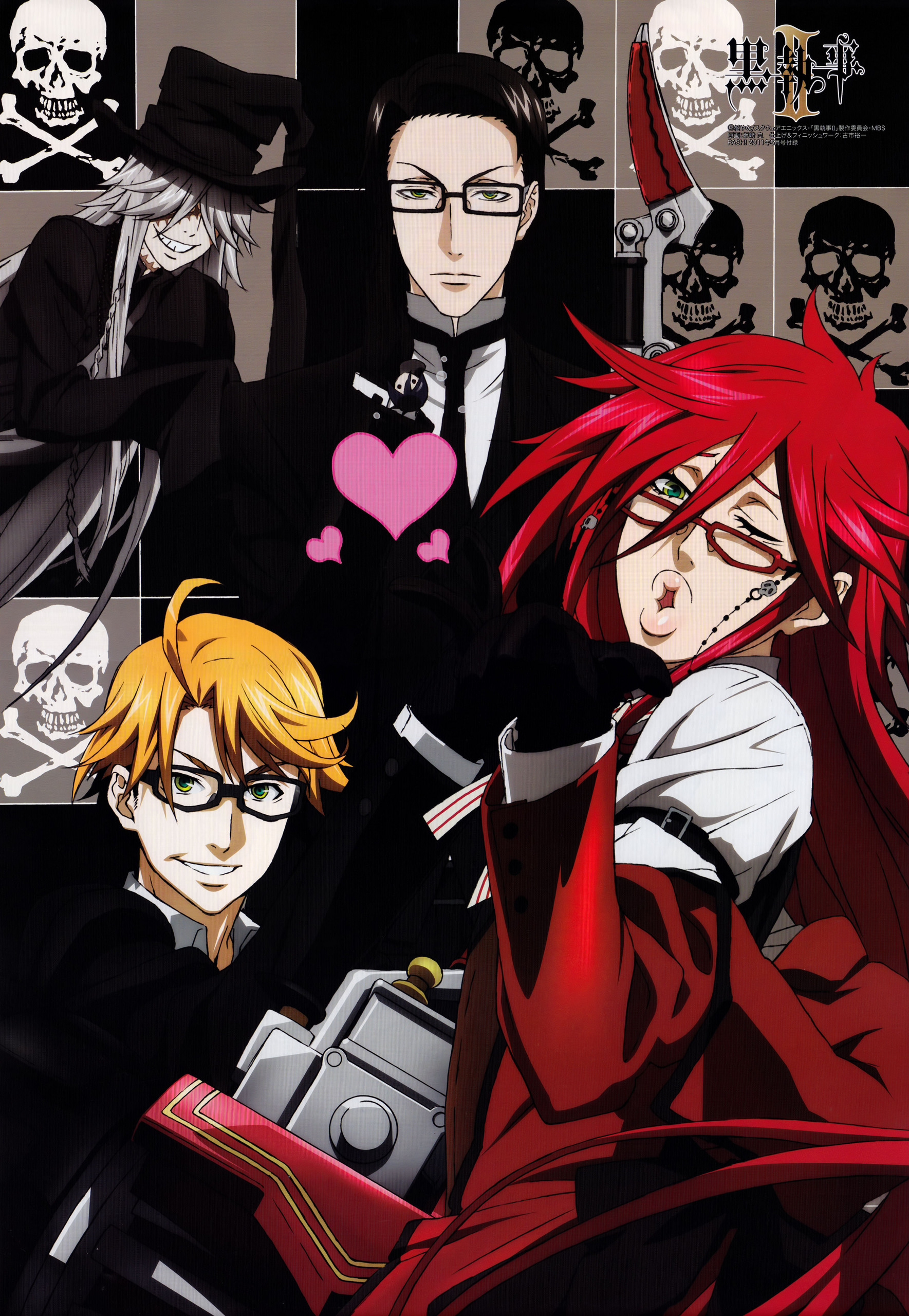 Grell SutcliffUndertaker  Works  Archive of Our Own