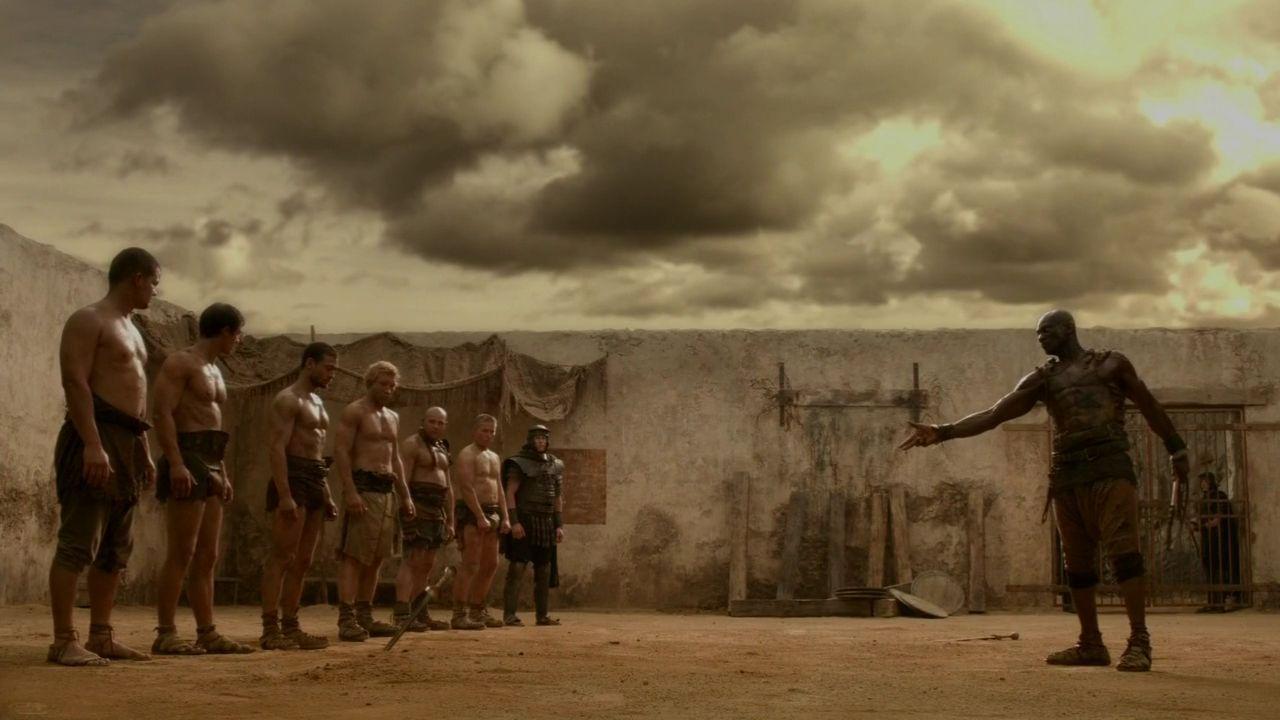Spartacus 1x02 sacramentum gladiatorum spartacus - Spartaco roma ...