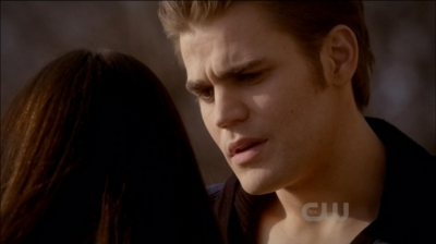coppie della TV wallpaper with a portrait called Stefan Salvatore and elena gilbert 2x20 vampire diaries