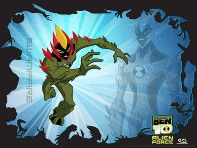 Ben 10: Alien Force images SwampFire Wallpaper wallpaper ...