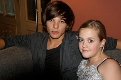 Sweet Louis Wiv His Sis Lottie 100% Real ♥