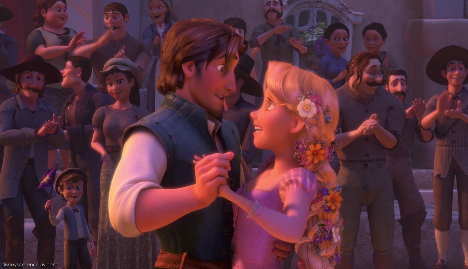 Tangled Movie Screencap 2010 Rapunzel And Flynn Image