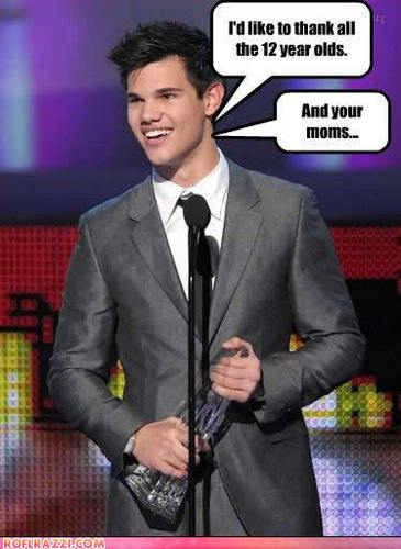 Taylor Lautner funny