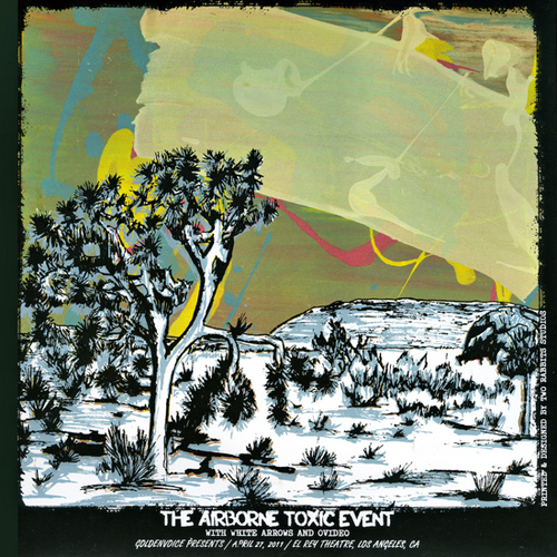 The Airborne Toxic Event Rock Poster