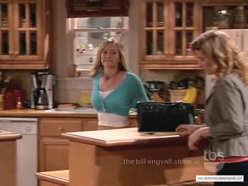 Jennifer Lawrence wallpaper probably with a kitchen and a brasserie entitled The Bill Engvall Show: 1x01 Good People