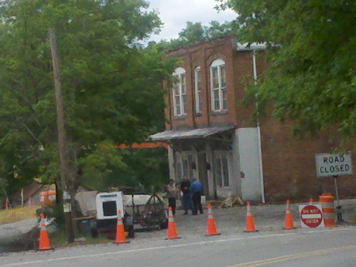 The Hunger Games movie - On set: Henry River Mill Village