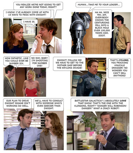 The Office Photocomic --- Robots