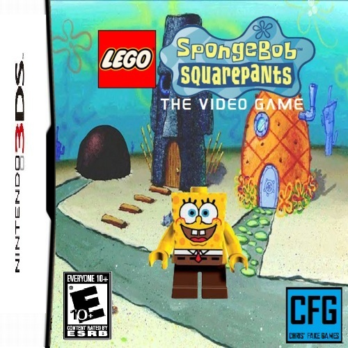 The SpongeBob Squarepants The Video Game On 3DS