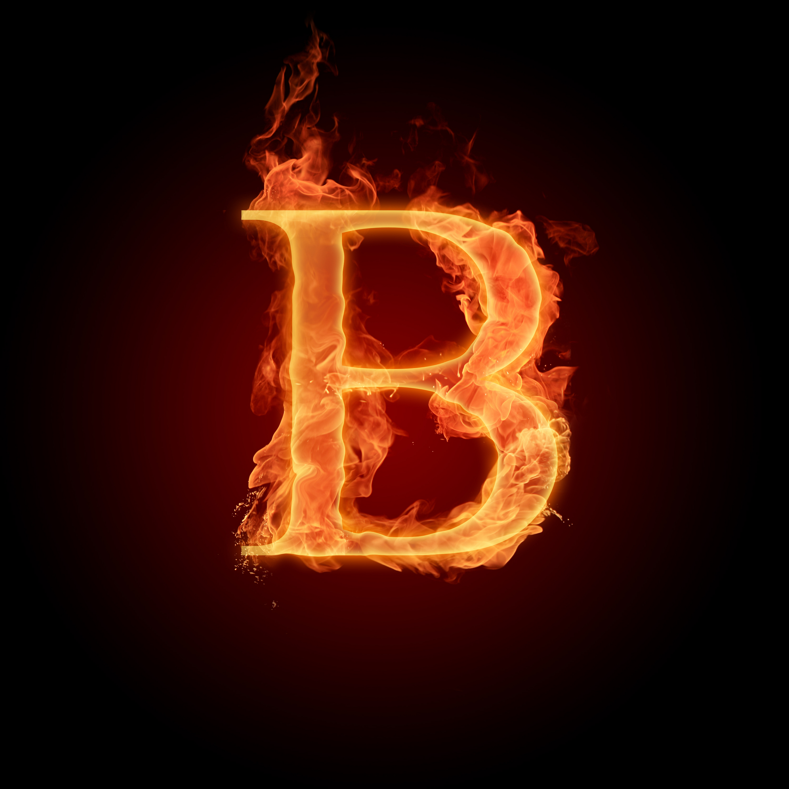 The Alphabet images The letter B HD wallpaper and ... Letter B Fire