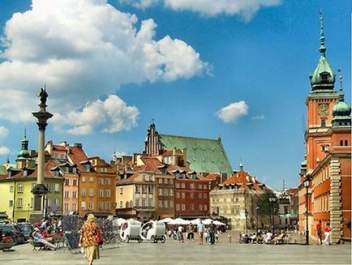 Европа Обои with a кремль and a business district titled The most beautiful places in Poland