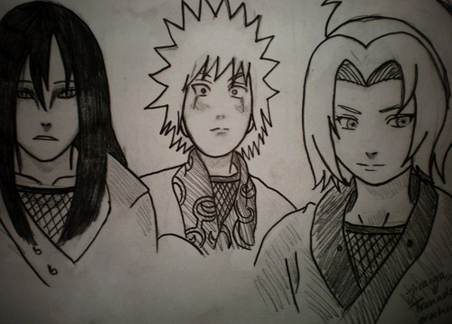 The three sannin :)