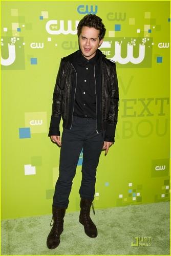 Thomas Dekker: CW Upfront with Britt Robertson!