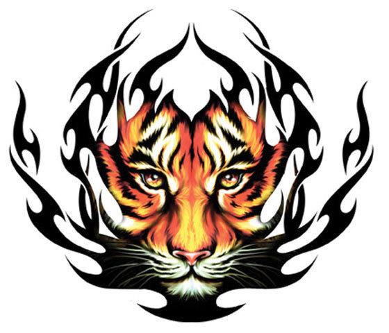 tiger tribal tattoo. tribal tattoos pics. Tribal
