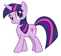 my little টাট্টু friendship is magic twilight sparke দেওয়ালপত্র possibly with জীবন্ত titled Twilight Sparkle