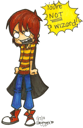 You' re not a wizard!