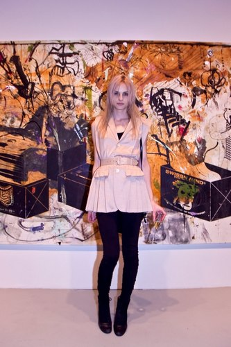 andrej pejic wallpaper probably with a hip boot called andrej