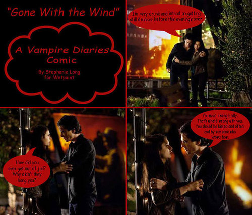 gone with the wind damon and elena
