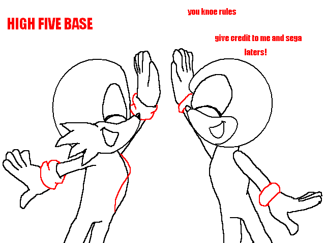 high five base