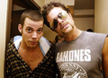 johnny and steve-o - johnny-knoxville photo