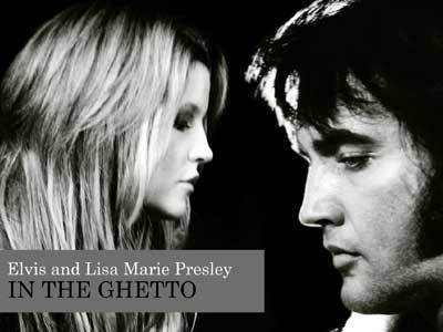 Elvis Aaron Presley and Lisa Marie Presley wallpaper containing a portrait entitled lmp & dad
