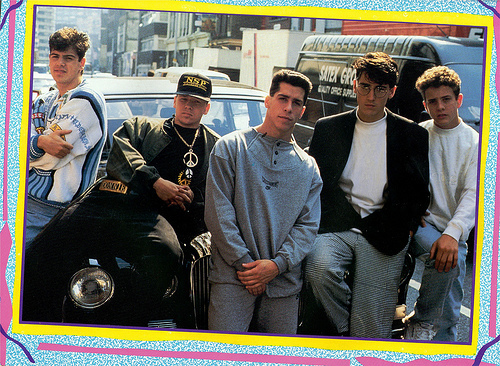New Kids on the Block 바탕화면 with a diner, a street, and a 차도 entitled nkotb