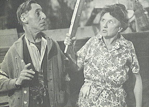 Marjorie Main and percy kilbride
