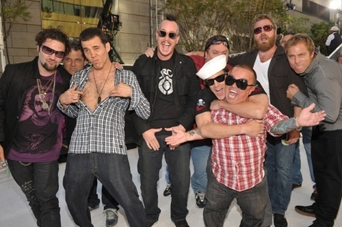 the whole jackass crew