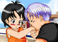 trunks and pan Love 4ever