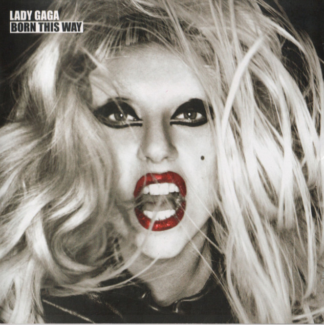 lady gaga hair cover art. hot hair hair lady gaga born