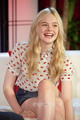  Elle Fanning at Young Hollywood Studios. - elle-fanning photo