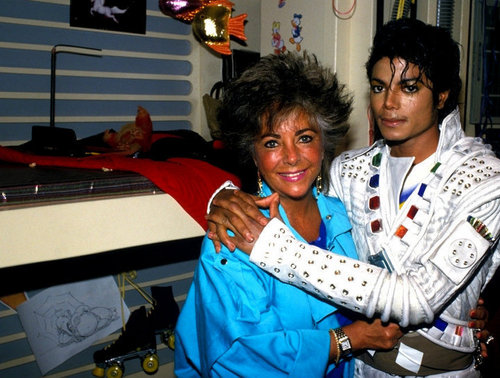 ♥' Mike & The Dearest Elizabeth Taylor ♥'