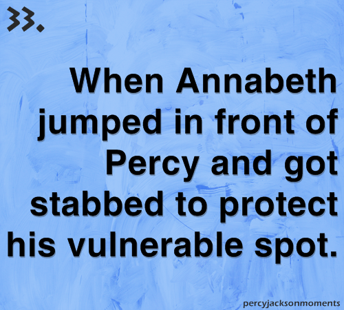 #percyjacksonmoments