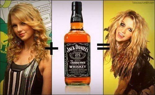 Taylor pantas, swift + Jack Daniels = ...