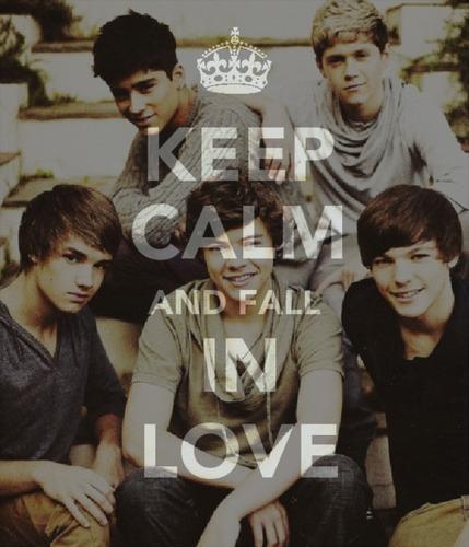 1D = Heartthrobs (Enternal Love) Keep Calm & Fall In Love!! pag-ibig 1D Soo Much! 100% Real ♥
