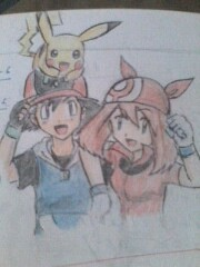 ADVshipping!! - ash-and-may Fan Art