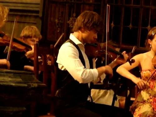 Alex in Uranienborg Kirke, Olso 21/05/2011