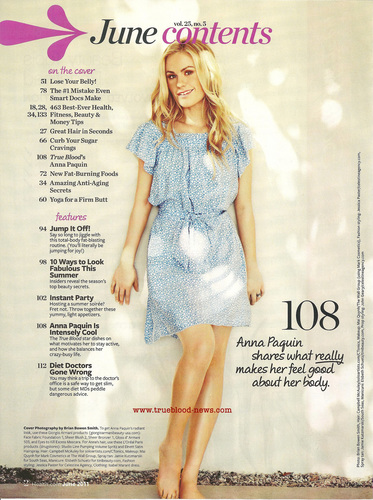 Anna in Health HQ - anna-paquin Photo